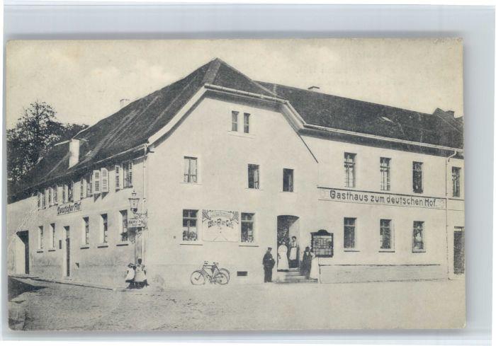 Eberstadt Wuerttemberg Eberstadt Gasthaus zum Deutschen Hof * / Eberstadt /Heilbronn LKR