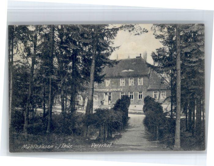 Muehlhausen Thueringen Muehlhausen Thueringen Peterhof x / Muehlhausen Thueringen /Unstrut-Hainich-Kreis LKR