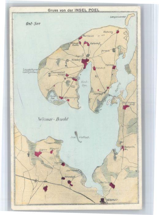 Insel Poel Insel Poel Wismar Redentin Niendorf Timmendorf * / Insel Poel /Nordwestmecklenburg LKR