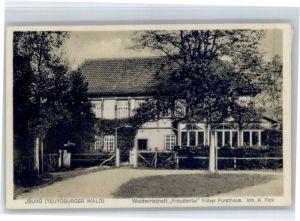 Bad Iburg Bad Iburg Wirtschaft Freudental Forsthaus * / Bad Iburg /Osnabrueck LKR