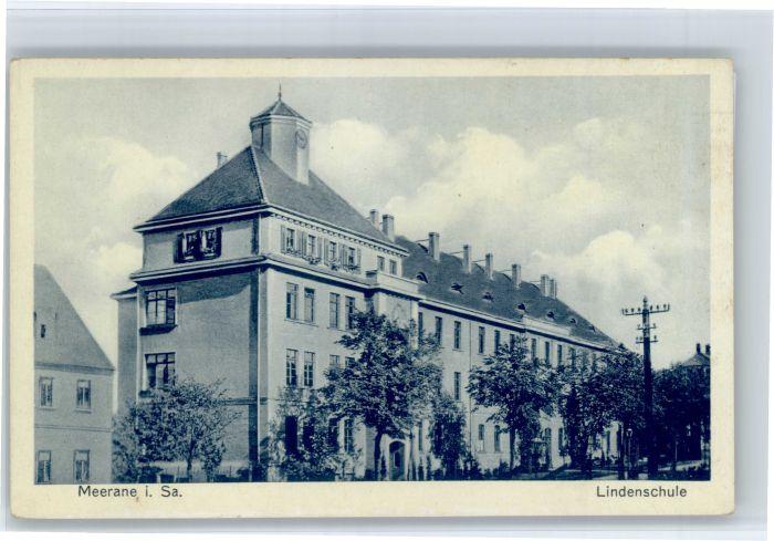 Meerane Meerane Lindenschule * / Meerane /Zwickau LKR