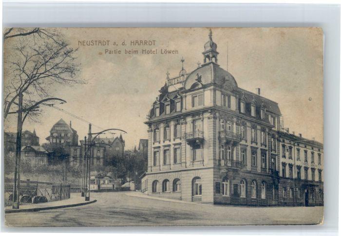 Neustadt Weinstrasse Neustadt Weinstrasse Hotel Loewen Strassenbahn * / Neustadt an der Weinstr. /NeuWeinstrasse Stadtkreis