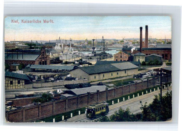 Kiel Kiel Werft Strassenbahn x /  /
