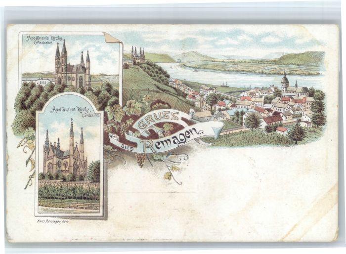 Remagen Remagen Apollinaris Kirche  * / Remagen /Ahrweiler LKR