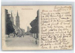 Oschatz Oschatz Altoschatzerstrasse x 1899 / Oschatz /Nordsachsen LKR