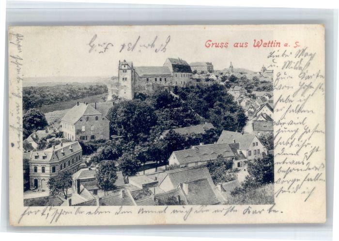 Wettin Wettin x 1909 / Wettin /Saalekreis LKR
