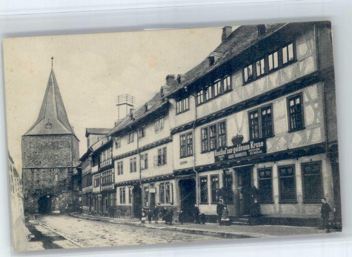 Goslar Goslar Hotel Zur goldenen Krone * / Goslar /Goslar LKR