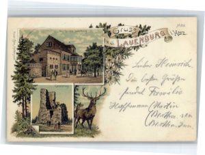 Lauenburg Elbe Lauenburg Gasthaus Hirsch x / Lauenburg  Elbe /Herzogtum Lauenburg LKR