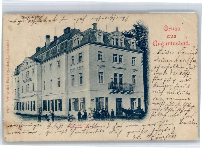 Liegau-Augustusbad Liegau-Augustusbad Palais Hotel  x / Radeberg /Bautzen LKR