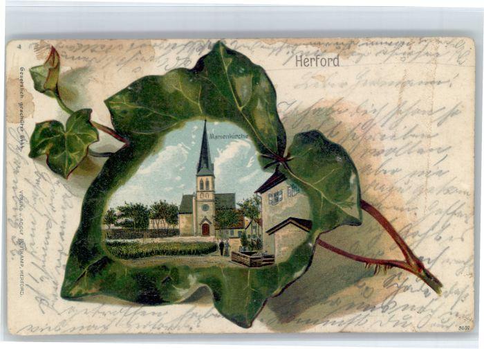 Herford Herford Marien Kirche  x / Herford /Herford LKR
