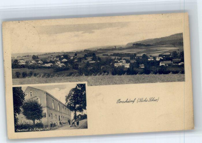 Porschdorf Porschdorf Gasthof Erbgericht x / Porschdorf /Saechsische Schweiz-Osterzgebirge LKR