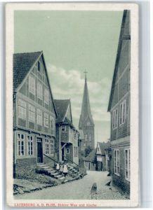 Lauenburg Elbe Lauenburg Kirche * / Lauenburg  Elbe /Herzogtum Lauenburg LKR