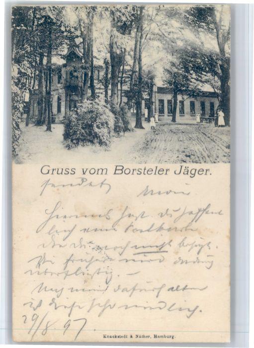 Fuhlsbuettel Fuhlsbuettel [Stempelabschlag]Borsteler Jaeger x / Hamburg /Hamburg Stadtkreis