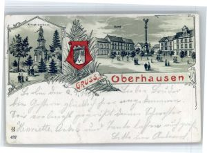 Oberhausen Oberhausen Krieger Denkmal  x / Oberhausen /Oberhausen Stadtkreis