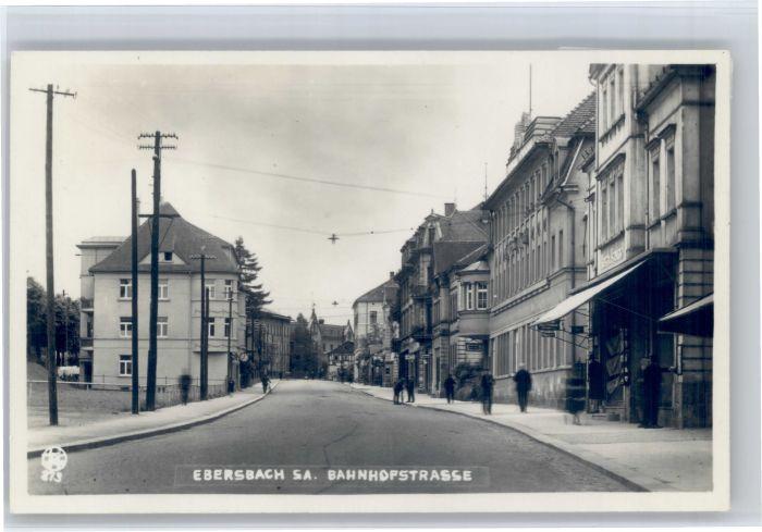 Ebersbach Fils Ebersbach Bahnhofstrasse * / Ebersbach an der Fils /Goeppingen LKR