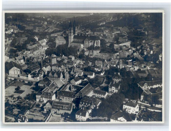 Quedlinburg Quedlinburg Fliegeraufnahme * / Quedlinburg /Harz LKR