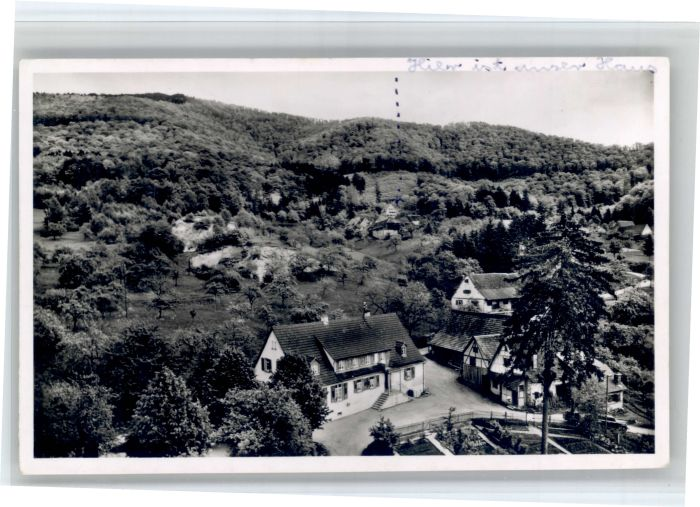 Sehringen Sehringen Gasthaus Zum gruenen Baum x / Badenweiler /Breisgau-Hochschwarzwald LKR