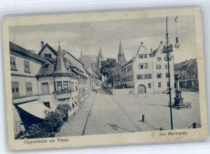Oppenheim Oppenheim Marktplatz * / Oppenheim Rhein /Mainz-Bingen LKR