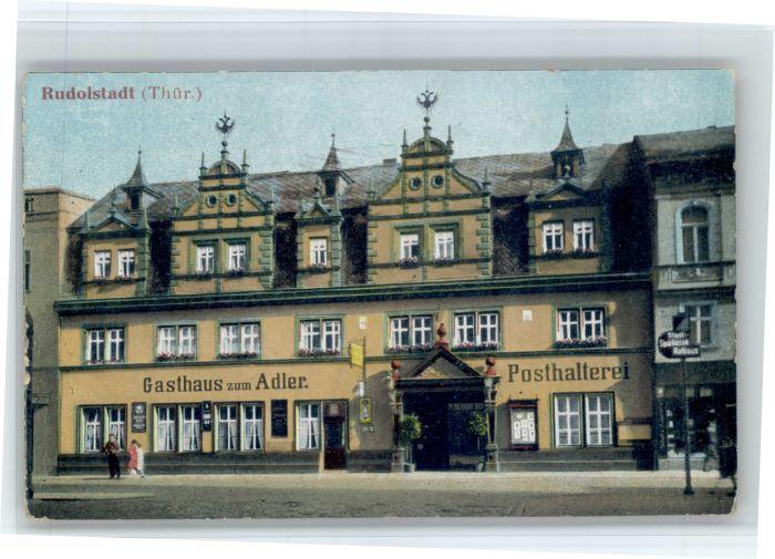 Rudolstadt Rudolstadt Gasthaus Adler * / Rudolstadt /Saalfeld-Rudolstadt LKR