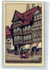 Halberstadt Halberstadt Haus mit Stelzfuss * / Halberstadt /Harz LKR