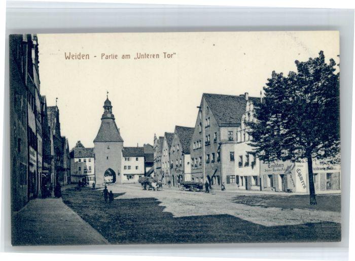 Weiden Oberpfalz Weiden Oberpfalz Unteren Tor * / Weiden i.d.OPf. /Weiden Stadtkreis