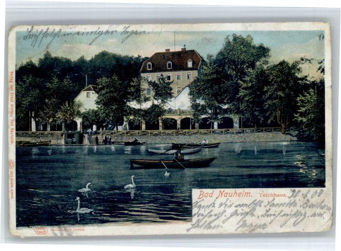 Bad Nauheim Bad Nauheim Teichhaus x / Bad Nauheim /Wetteraukreis LKR