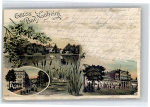 Bad Nauheim Bad Nauheim Teichhaus Kurhaus  x / Bad Nauheim /Wetteraukreis LKR