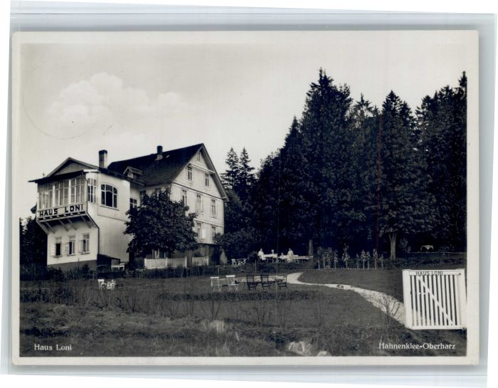 Hahnenklee-Bockswiese Harz Hahnenklee-Bockswiese Haus Loni x / Goslar /Goslar LKR