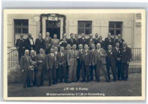 Heidelberg Neckar Heidelberg Wiedersehensfeier * / Heidelberg /Heidelberg Stadtkreis