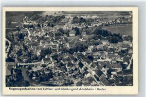 Adelsheim Adelsheim Fliegeraufnahme * / Adelsheim /Neckar-Odenwald-Kreis LKR