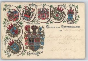 Emden Ostfriesland Ostfriesland Wappen x / Emden /Emden Stadtkreis