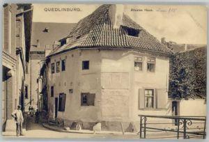 Quedlinburg aeltestes Haus *