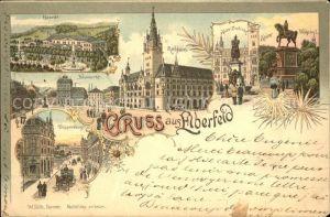 Elberfeld Wuppertal Rathaus Doeppersberg Haardt Kaiser-Friedrich- und Kaiser Wilhelm-Denkmal / Wuppertal /Wuppertal Stadtkreis