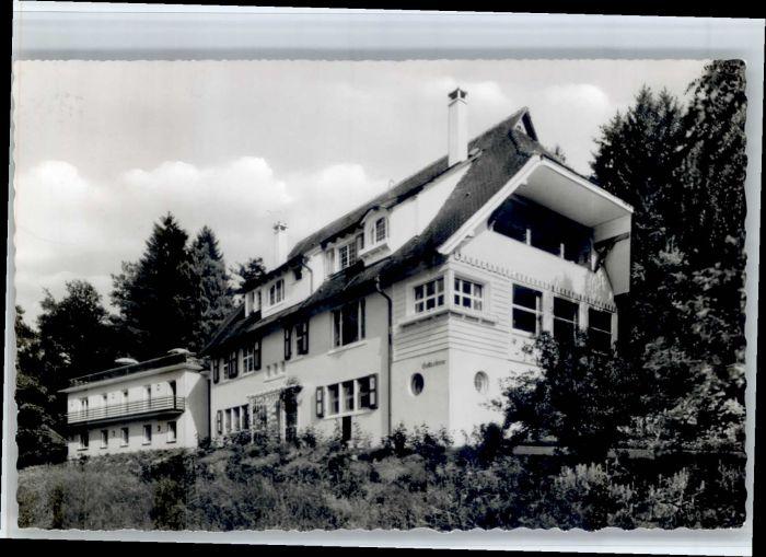 Badenweiler Badenweiler Haus Gottestreue x / Badenweiler /Breisgau-Hochschwarzwald LKR