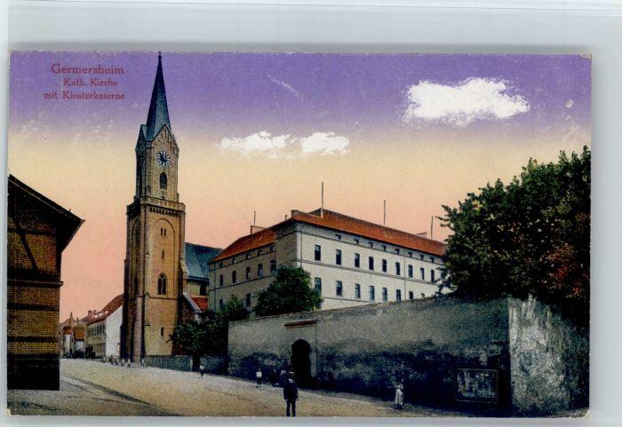Germersheim Germersheim Kirche x / Germersheim /Germersheim LKR
