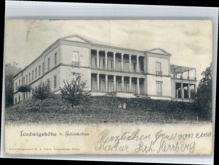 Edenkoben Edenkoben Ludwigshoehe x / Edenkoben /Suedliche Weinstrasse LKR
