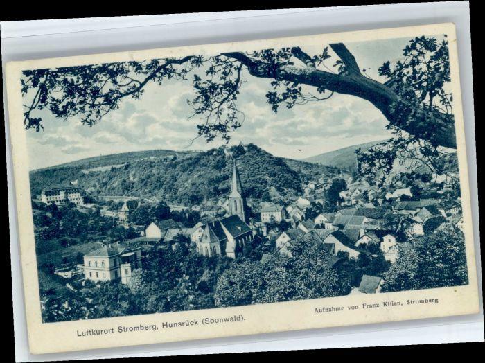 Stromberg Hunsrueck Stromberg Hunsrueck  x / Stromberg /Bad Kreuznach LKR