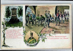 Friedrichsfeld Niederrhein Friedrichsfeld Niederrhein Barackenlager x / Voerde (Niederrhein) /Wesel LKR