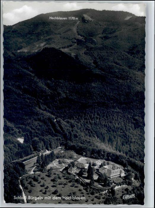 Schloss Buergeln Schloss Buergeln Fliegeraufnahme * / Kandern /Loerrach LKR
