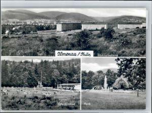 Ilmenau Thueringen Ilmenau Thueringen Schwimmbad Park x / Ilmenau /Ilm-Kreis LKR