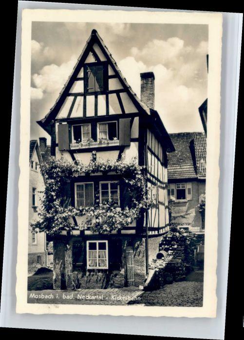 Mosbach Baden Mosbach Kickelhahn * / Mosbach /Neckar-Odenwald-Kreis LKR