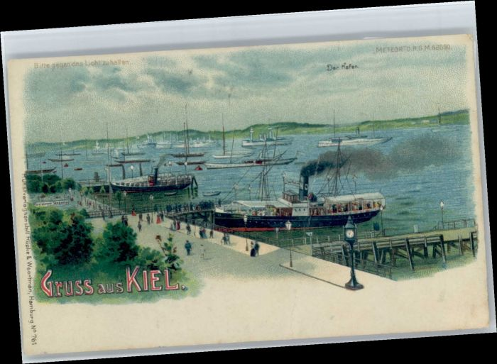 Kiel Kiel Hafen * / Kiel /Kiel Stadtkreis
