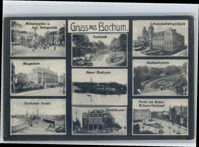 Bochum Bochum Wilhelmplatz Amtsgericht Wilhelm Denkmal  x / Bochum /Bochum Stadtkreis