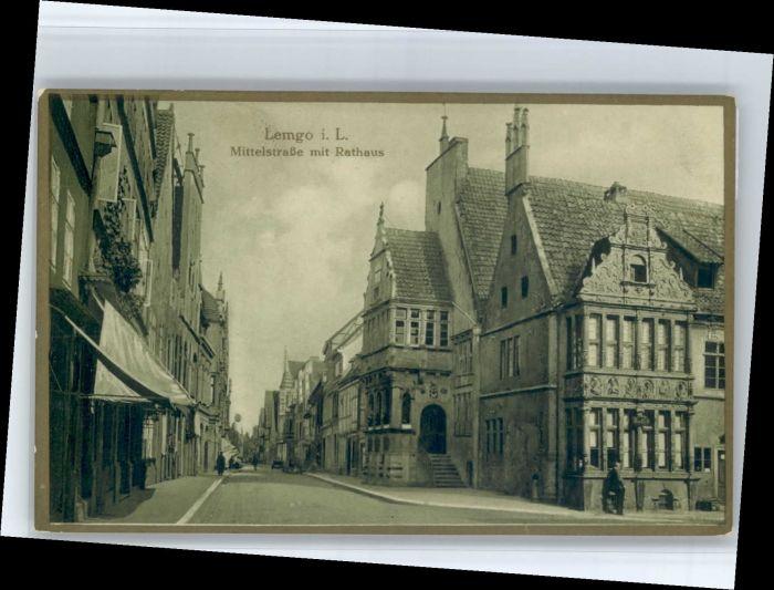 Lemgo Lemgo Mittelstrasse Rathaus * / Lemgo /Lippe LKR