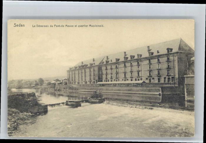 Sedan Ardennes Sedan Pont Meuse Quartier Macdonald  * / Sedan /Arrond. de Sedan