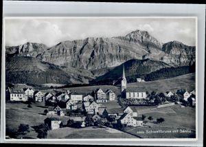 Schwellbrunn Schwellbrunn Saentis * / Schwellbrunn /Bz. Hinterland