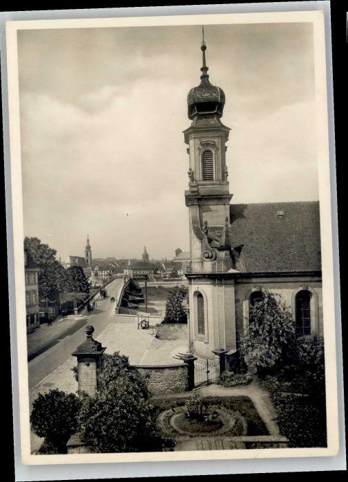 Kitzingen Kitzingen Etwashausen Kreuzkirche x / Kitzingen /Kitzingen LKR