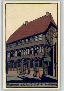 Hameln Hameln Stiftsherrenhaus * / Hameln /Hameln-Pyrmont LKR
