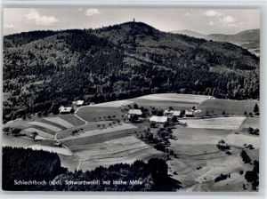 Schlechtbach Schopfheim Schlechtbach Schopfheim Fliegeraufnahme * / Schopfheim /Loerrach LKR