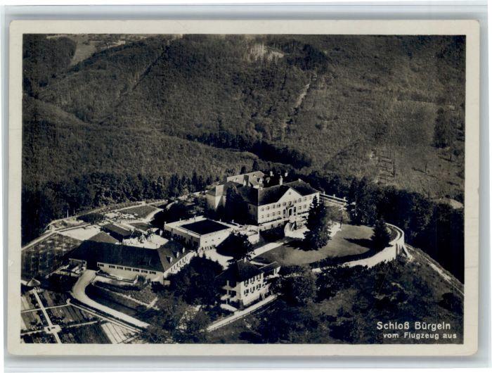 Schloss Buergeln Schloss Buergeln Fliegeraufnahme x / Schliengen  /Loerrach LKR